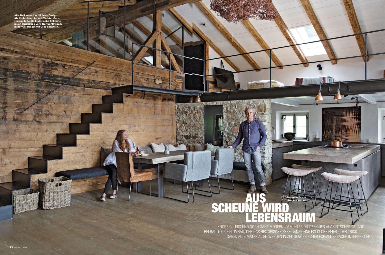 loft interieur mit schlichtem design bilder, architektur & wohnen - alv kintscher, Design ideen